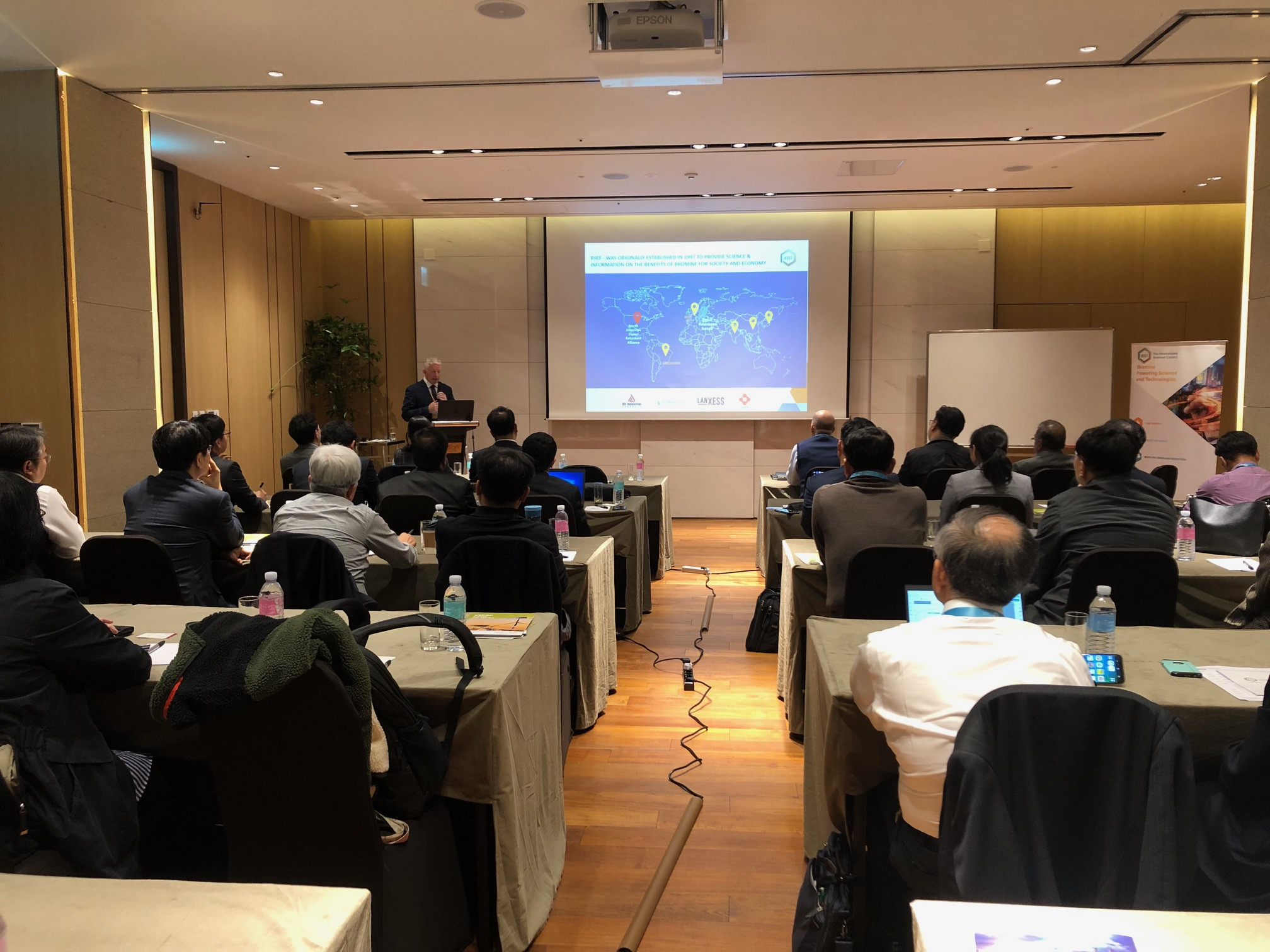 BSEF, The International Bromine Council, meets with key Asian stakeholders in Seoul